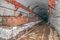 Old derelict mine. Royalty Free Stock Images