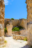 Old Des�hostal quarry entrance Stock Photography
