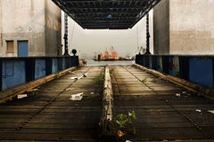 Free Old Desert Car Ferry Dock Royalty Free Stock Photography - 15847497