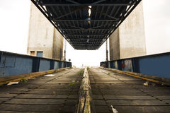 Old desert car ferry dock Royalty Free Stock Photography