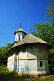 Old deserted beautiful church. Old traditional church at a village museum Royalty Free Stock Images