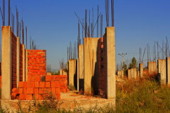 Old deserted building site. 7 Stock Photos