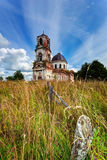 Old deserted church Stock Images