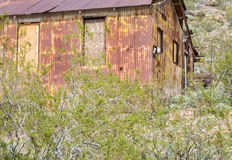 Old deserted homestead, Oatman, Arizona Stock Photography