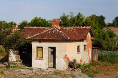 Old deserted house. In central Bulgaria Stock Image