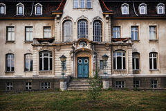 Old deserted mansion with ghosts Stock Photos