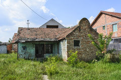 Old deserted rural house Royalty Free Stock Photo