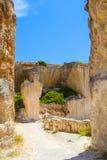 Old Des'hostal quarry entrance Stock Photography