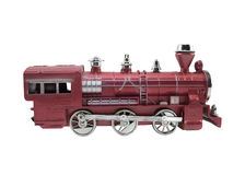 Old design train toy. Royalty Free Stock Images