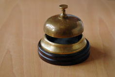 Old desk bell Stock Images