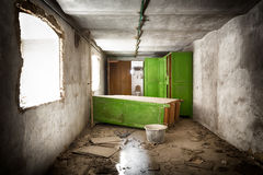 Old desolate dressed room Royalty Free Stock Photography
