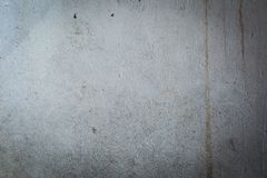 Old destroyed concrete wall with uneven structure Royalty Free Stock Photography