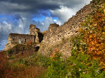 Old destroyed fortress.Russia. Koporye Royalty Free Stock Images