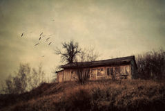 Old Destroyed House Stock Photography