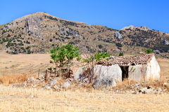 Old destroyed villa in Spain Stock Photos