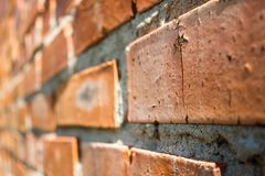 Old destroyed wall Stock Image