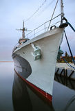 Old destroyer in Gdynia. Poland Royalty Free Stock Image