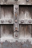 Detail of old door. Old detail of old door royalty free stock image