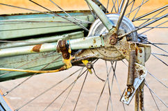 Details of bicycle wheel Royalty Free Stock Photos