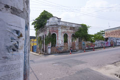 Old Deteriorated Building In Manaus Royalty Free Stock Photo