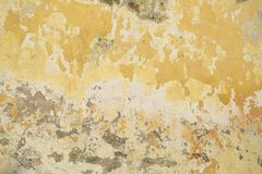 Old deteriorated wall texture in bright color Royalty Free Stock Images