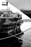 Old dhow boats Stock Images