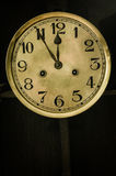Old dial clock Stock Photography