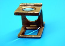 Old Diamond magnifier. Old  magnifier used by Diamond craftsman Stock Photos