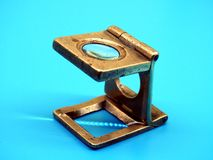 Old Diamond magnifier. Used by craftsman in the Diamond business Stock Image