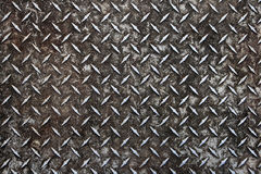 Old diamond plate Royalty Free Stock Photos