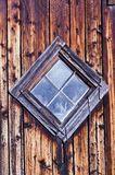 Old Diamond Shaped Barn Window Royalty Free Stock Photography