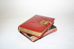 Old Diaries Royalty Free Stock Photo