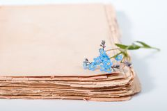 Old diary Royalty Free Stock Photo
