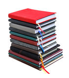 Old diary books  isolate Royalty Free Stock Image