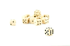 Old dice Royalty Free Stock Photo