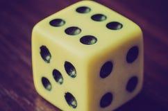 Old dice Stock Photos
