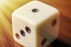Old dice Stock Photography