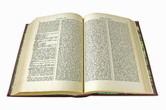 Old dictionary Stock Photo