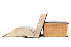 Old Dictionary Open Stock Photos