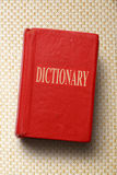 Old dictionary Stock Image