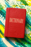 Old dictionary Royalty Free Stock Images