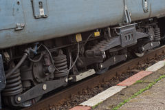 Old diesel electric locomotive detail Royalty Free Stock Photography