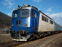 Old diesel electric locomotive Royalty Free Stock Photos
