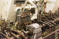Old diesel engine. Royalty Free Stock Photography