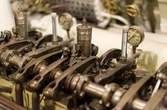 Old diesel engine. Stock Image