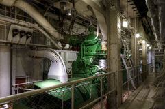 Old diesel generator Stock Photography