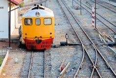 Old diesel hydraulic locomotive Royalty Free Stock Photo