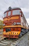 Old diesel locomotive royalty free stock images