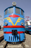 Old diesel locomotive 3 Stock Image