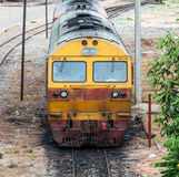 Old diesel locomotive Royalty Free Stock Photo